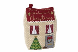Christmas House Doorstop 23cm x 10cm