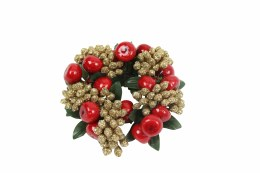 Christmas Decoration Candle Ring 9cm