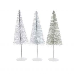 Christmas Decoration Christmas Tree with Glitter 20x64cm