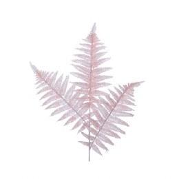 Artificial Fern Leaf Spray Pink 80cm