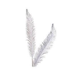 Christmas Feather Spray 90cm