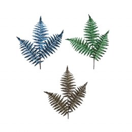 Christmas Fern Leaf Spray 77cm