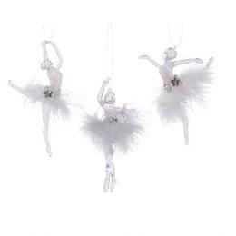 Christmas Ballerina With Hanger 13cm