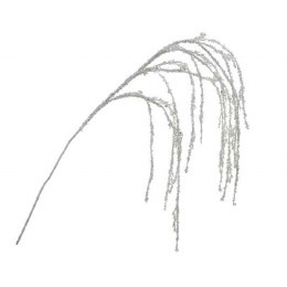 Christmas Silk Flowers Weeping Willow Branch with Glitter 120cm