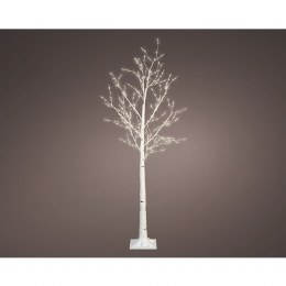 Christmas Birch Tree Pre Lit 400 Warm White 1.5 Meter Tall