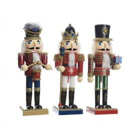 Christmas Nutcracker Soldier Wooden Firwood 25cm
