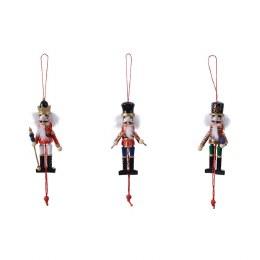 Christmas Nutcracker Pull Puppet 12.5cm