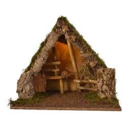 Christmas Nativity Crib Empty 54x31x45cm