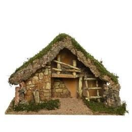 Christmas Nativity Crib Empty 50x22x31cm