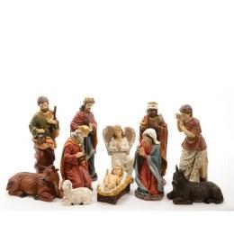 Christmas Nativity Set With 11 Figures 46cm