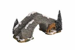 Luville Stone Bridge witl Deer 24cm x 11.5cm x 13cm