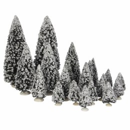 Luville Evergreen Trees Assorted 21 Pieces 22cm x 8cm