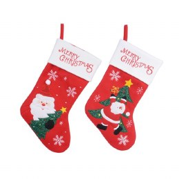 Christmas Stocking Santa Red 2x25x40.5cm