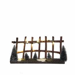Luville Fence Lighted 19.5cm x 3cm x 10cm