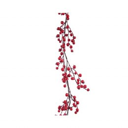 Christmas Garland Berry Red 20 x 180cm