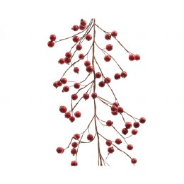 Christmas Garland Berry Red 13 x 130cm