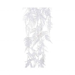 Christmas Asparagus Bush with Glitter and Snow Finish White 35x105cm