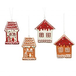 Christmas Gingerbread House Decoration with Hanger 8cm