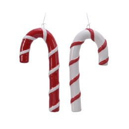 Christmas Candy Cane Stick With Hanger 16cm