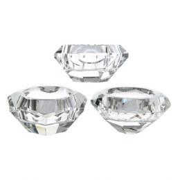 Christmas Diamond Shape Tea Light Holder 7 x 3.5cm