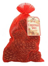 Enchante Christmas Spice Fragranced Pine Cones in Bag