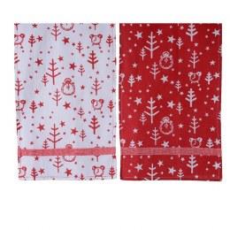 Christmas Tablerunner Red White 140x40cm