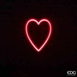 Christmas Neon Heart Shape LED Light 40cm