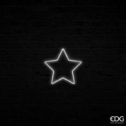 Christmas Neon Star Shape with 140 LED Lights 36cm