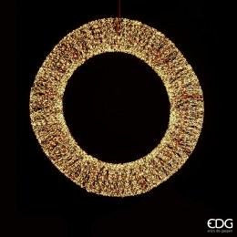 90cm Corona Microled Wreath with 12480 Warm White Lights