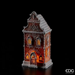 Christmas Gingerbread House with LED Lights 34cm