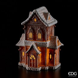Christmas Gingerbread House with LED Lights 37cm