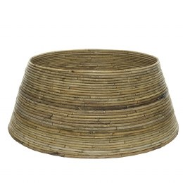 Christmas Tree Rattan Ring For Base of Tree Bamboo Colour 70 x 28cm
