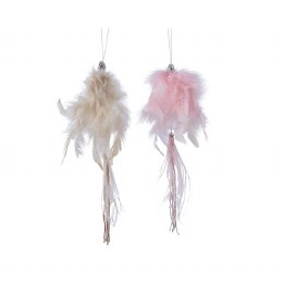 Christmas Decoration Feather Tassel 25cm