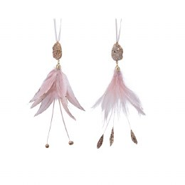 Christmas Decoration Feather Hanger 22cm
