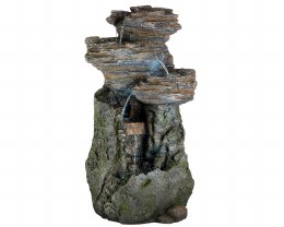 Old Rock Water Feature 40 X 52 X 99.5cm - Natural