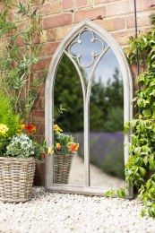 La Hacienda Church Window Mirror