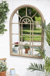 La Hacienda Rounded Arch Mirror