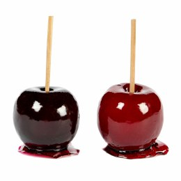 Christmas Red or Burgandy Candy Apple Decoration 15cm