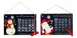 Christmas Countdown Chalkboard 30 x 20cm