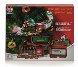 Christmas Tree Train With Santa on Sleigh - Barttery Operated 89cm