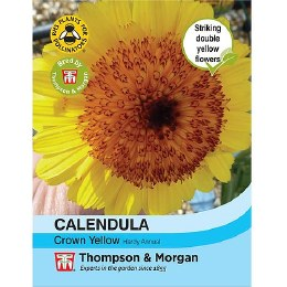 Calendula Crown Yellow