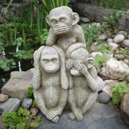 Three Wise Monkeys 32cm