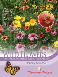 Wild Flower Honey Bee Flower