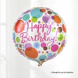 Add a Happy Birthday Balloon