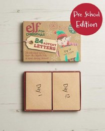 Advent Letter Set - Pre School Edition