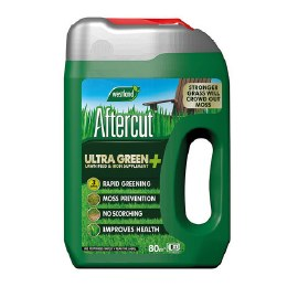 Aftercut Ultra Green Lawn Feed and Iron Supplement 80m²