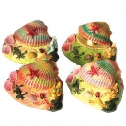Betta Air Action Colourful Shell Aquarium Ornament