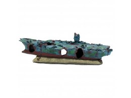 Aquarium Ornament Aircraft Carrier Extra Large
