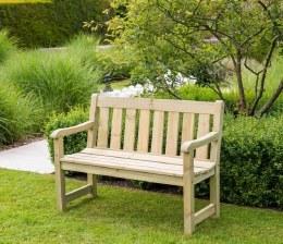 Alexander Rose 4ft Marlow Pine Bench