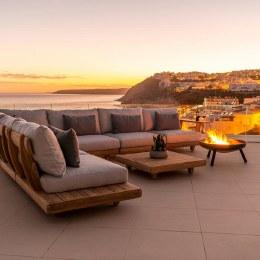 Alexander Rose Sorrento Wood Lounge